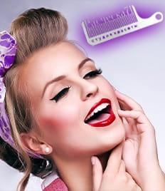 Преображение для волос, ногтей и другие услуги красоты в салоне «Расческа71» со скидкой до 70%!