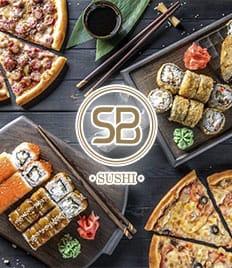 Новое меню на сеты и пиццы от SB SUSHI со скидкой 50%!