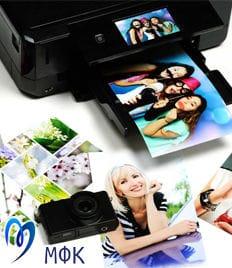 Печать фотографий, визиток и других документов в фотосалоне