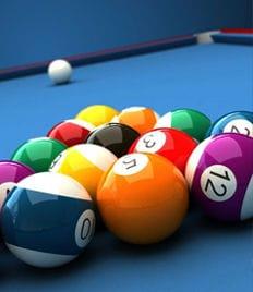 Игра в русский бильярд, американский пул и настольный теннис в бильярдном клубе «Пирамида» со скидкой 50%!