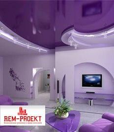 Приятные подарки и скидка до 100% на второй потолок от компании «Rem-Proekt»!