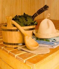 Попарься от души! Настоящая русская баня на дровах в «Березовой роще» со скидкой 50%!