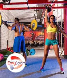 Скидки до 36% на абонементы в тренажерный зал в фитнес-клуб «EasySport»!