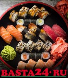 Basta24 с полюбившимися блюдами из паназиатской кухни со скидками до 50%