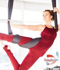 Летние горячие предложения только в Easy Sport! Скидки до 54% на абонементы в тренажерный зал и аэройогу!
