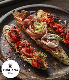 В честь открытия нового Итальянского ресторана «TOSCANA» скидка на сеты до 53%!