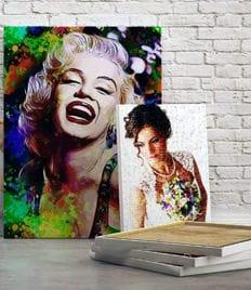 Печать на холсте и стекле от студии печати «Parallax» со скидкой до 50%!