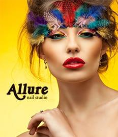 Бережная забота о красоте Ваших ноготков, шугаринг и брови со скидкой до 40% от студии «Allure»!