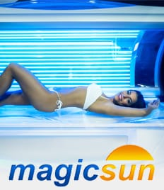 Абонементы в студию загара «MagicSun» со скидкой до 50%! Солнце рядом, весна близко!