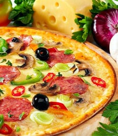 Итальянская пицца со скидкой 50% в