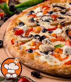 Впервые пицца от