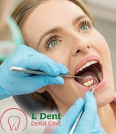 Здоровая улыбка для всей семьи в стоматологической клинике «L-Dent» со скидками до 60%!