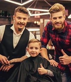 Детские и мужские стрижки, уход за бородой и усами со скидкой 50%! Приходите за стильным образом к нам!