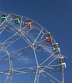 Взгляните на Тулу с 55-метровой высоты! Новое колесо обозрения на парковке ТРЦ «Макси» со скидками до 53%!