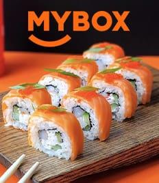 Впервые! Вкусные роллы и сеты от службы доставки MYBOX со скидкой 50%!