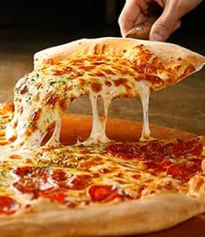 Побалуйте себя вкусной пиццей в самом центре города от «Дом пиццы» со скидкой 50%!