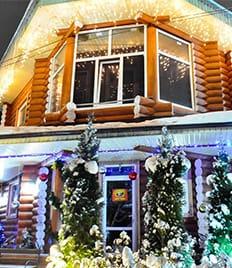 Встречай Новый год в бане! Эксклюзивный отдых в русской бане «Crazy веник» со скидкой 50%!