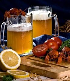 Пиво и раки - прекрасный тандем! Раковарня