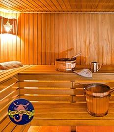 Комфортабельная мини-гостиница и русская парная со скидкой до 50% в комплексе «Скорпион»!