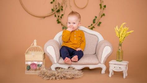Весенний фотомалышник в студии со скидкой 34% от Екатерины Тимоховой! Тематические фотосессии для Вас и Вашего малыша!