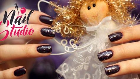 Новогодняя сказка для вашего маникюра! Скидка до 47% на все услуги красоты в Ногтевой студии Анны Макаренко!