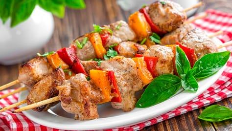 Блюда на мангале со скидкой 50% в SB кафе