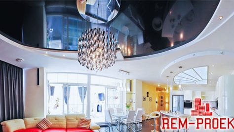 Компания «Rem-Proekt» дарит скидки до 100% на второй потолок или освещение в подарок!