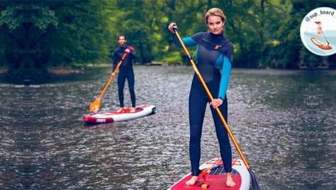 Скидка до 37% на прогулки Sup – boarding по реке Воронке, Упе и Кондуках!