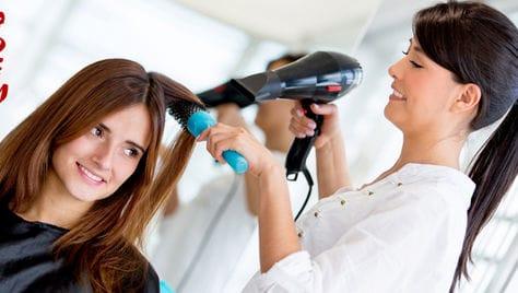 Пришло время снимать шапки и подготовить себя к весне! Скидка до 61 % на услуги для Ваших волос в студии красоты
