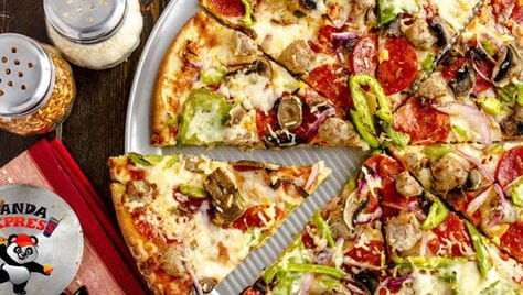 Итальянская пицца и японские роллы со скидкой 50% от службы доставки «Panda Express»!