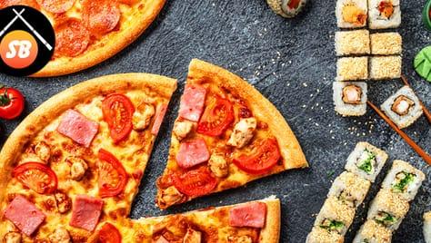 Вкусная скидка 50% на сеты и пиццы от «SB SUSHI»!