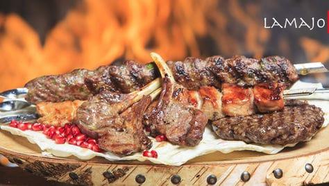 Вкуснейший шашлык и другие блюда с мангала от любимой службы доставки