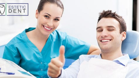 Начни любоваться своей улыбкой! Современная стоматология ESTETIC DENT со скидкой до 69%!