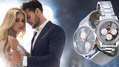 Lux time – магазин оригинальных часов дарит скидку до 52% на мужские и женские модели!