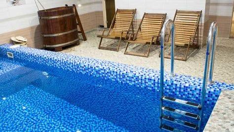 Настоящая русская баня на дровах со скидкой 50% от банного комплекса