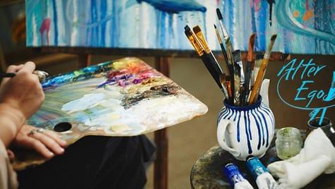 В честь расширения художественная школа «Alter Ego» дарит скидку 50% на мастер-классы и курсы по живописи для детей и взрослых!