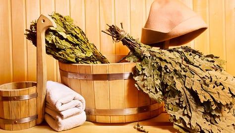 Русская баня на дровах со скидкой 50% в комплексе «Березка»!