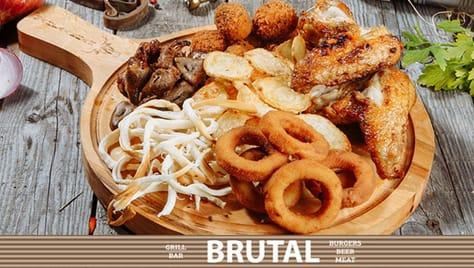 Ждем Вас в гости в гриль-бар «BRUTAL»! Дарим скидку 50% на все меню в честь нашего открытия!