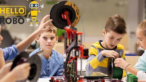 Техническая школа для детей от 5 лет HelloRobo со скидкой -50%!