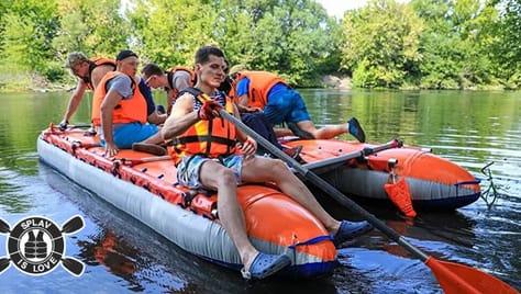 Отправьтесь в веселое приключение на водных просторах Тульской области со скидкой 30%