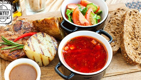 Необычайно вкусные обеды по выгодным ценам от кафе «В муку»!