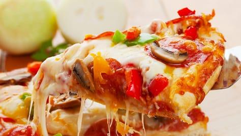Вкусная и любимая пицца «Primavera» со скидкой 50%!