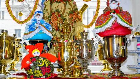 Красивые оренбургские, павлопосадские платки и русские самовары со скидкой 10% от фирменного магазина