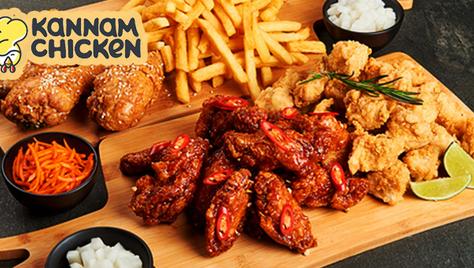 Впервые в Туле! Корейская курочка от «Kannam Chicken» со скидкой 50%!