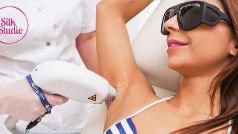 Российская Сеть студий удаления волос «Шелк» дарит скидки до 77%!