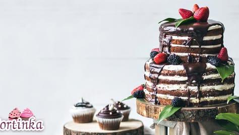 Великолепные, эксклюзивные, сладкие! Торты, капкейки и трайфлы со скидкой до 50% от «Тортинка71»!