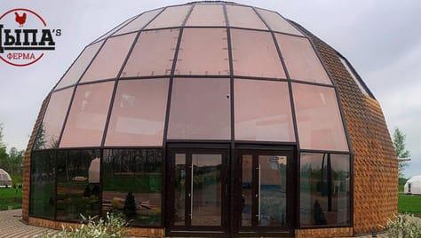 Встречайте рассвет в купольном доме с панорамными окнами со скидкой 50%!